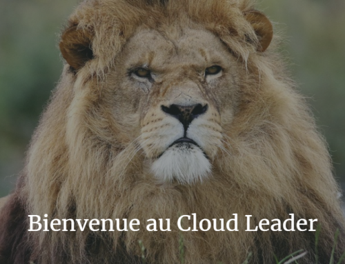 Bienvenue au Cloud Leader